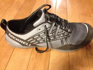 Merrell Trail Glove 2 Review (and the Rutgers Unite Half Marathon)
