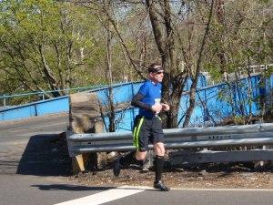 2.2 miles to go (thanks David Schatz for the photo)