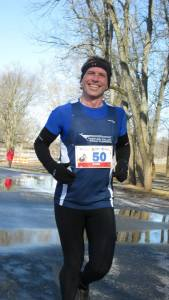 Must have been early in the race - thanks Elaine for the great photos